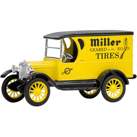 Diecast | Miller Truck Bank (Coker Tire Version)