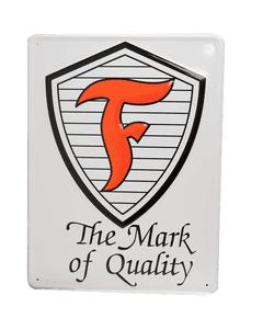 Metal Sign | Firestone Shield
