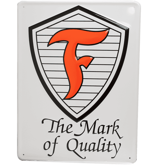 Metal Sign | Firestone Shield