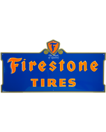 Metal Sign | Firestone Neon Style