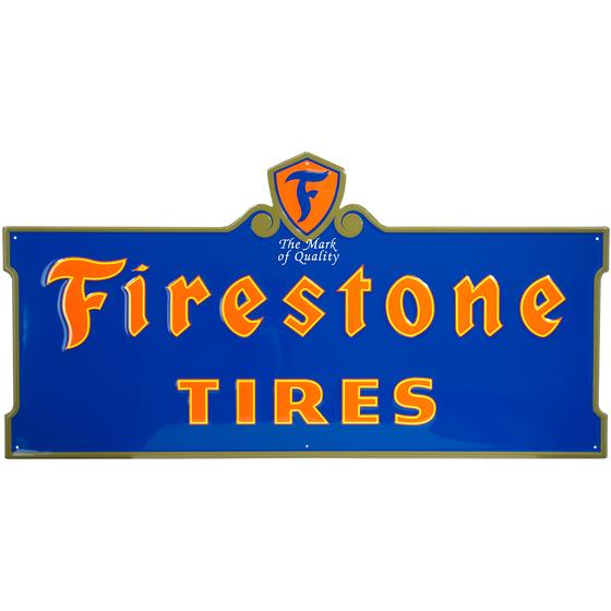 Metal Sign | Firestone Neon Style
