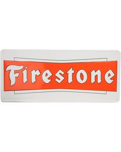 Metal Sign | Firestone Bowtie