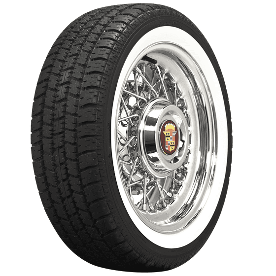 American Classic Radial | 2 Inch Whitewall | 205/60R15