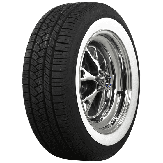 American Classic Radial | 2 Inch Whitewall | 215/60R15