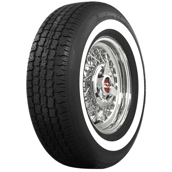 American Classic Radial | 1.3 Inch Whitewall | 215/75R15