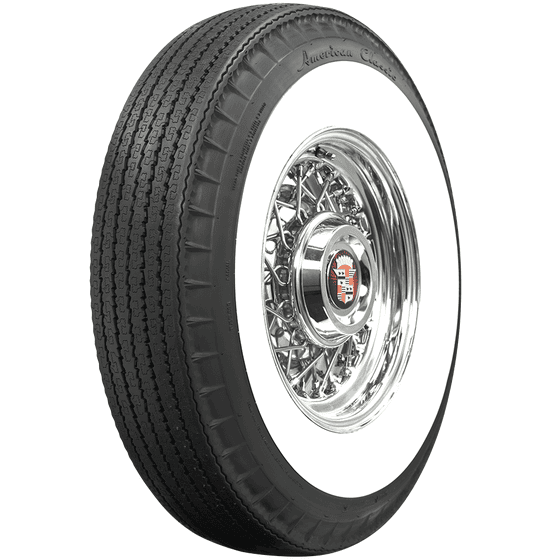 American Classic Radial | 3 1/4 Inch Whitewall | 800R15