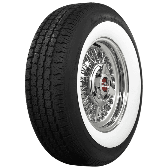 American Classic Radial | Wide Whitewall