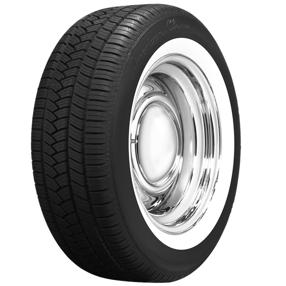 American Classic Radial | 1 3/4 Inch Whitewall Tire | 235/55R17