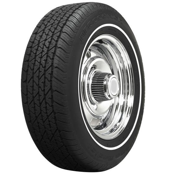 BF Goodrich Silvertown Radial | 3/8 Inch Whitewall | 215/70R15