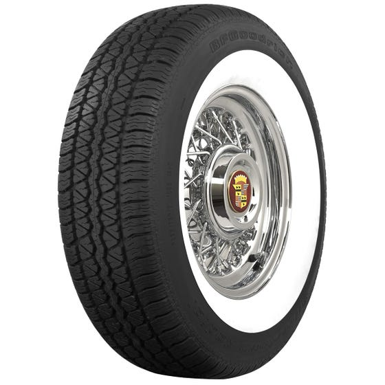 BF Goodrich Silvertown Radial | 2 1/4 Inch Whitewall | 165/80R13