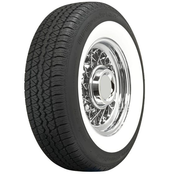 BF Goodrich Silvertown Radial | 2 3/8 Inch Whitewall | 205/75R15