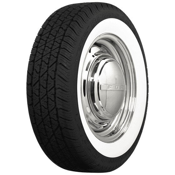 BF Goodrich Silvertown Radial | 2 1/4 Inch Whitewall | 185/70R14