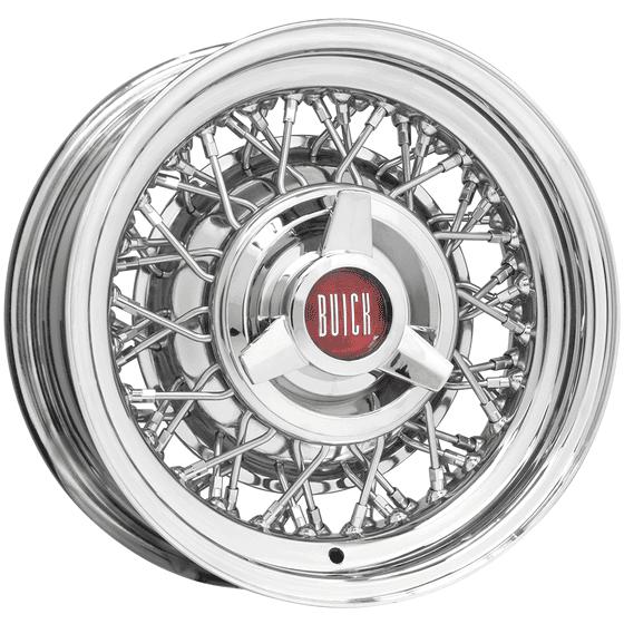 "16x6 Buick Wire | 5x5"" bolt | 2.50"" backspace"