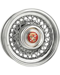 15x6 Cadillac Wire Wheel   1940-1956