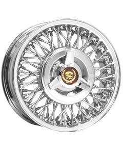 15x6 Cadillac Eldorado | 5x5 bolt | Stainless | FWD Wheel-Drum Brake