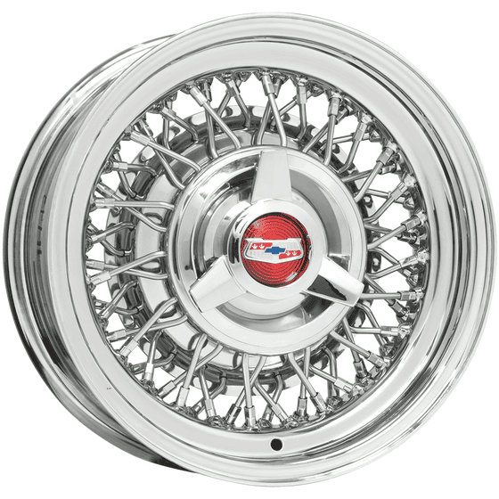 "15x6 Chevy Wire | 5x4 3/4"" bolt 