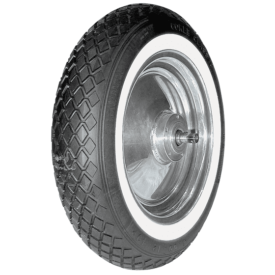 Coker Classic Cycle | Diamond Tread | Whitewall | 400-12