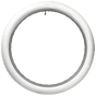 Coker Classic Cycle | All White Button Tread | 26x3