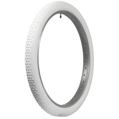 Coker Classic Cycle | All White Button Tread | 28x3