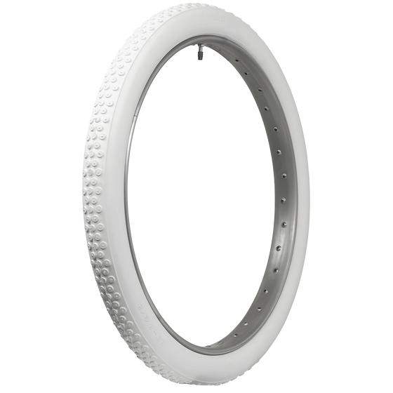Coker Classic All White Tire | Button Tread