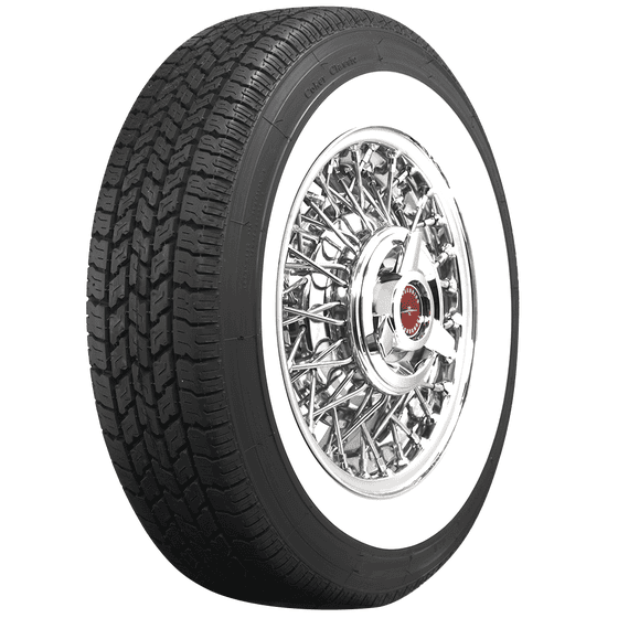 Coker Classic | 2 1/2 Inch Whitewall | 215/75R15