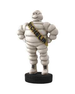 Resin Figure | #3 Collector's Series | Bib Standing on Tire