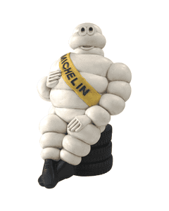 Resin Figure | #4 Collector's Series | Bib Sitting on Tire Stack