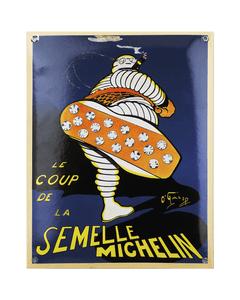 Metal Sign | Vintage Bibendum Semelle