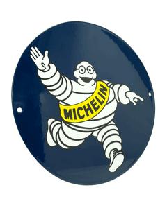 Metal Sign | Vintage Bibendum Ronde