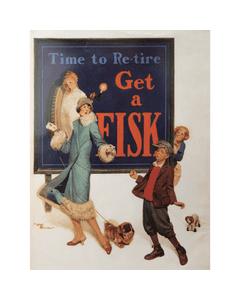 Poster | Fisk | Dog on Leash