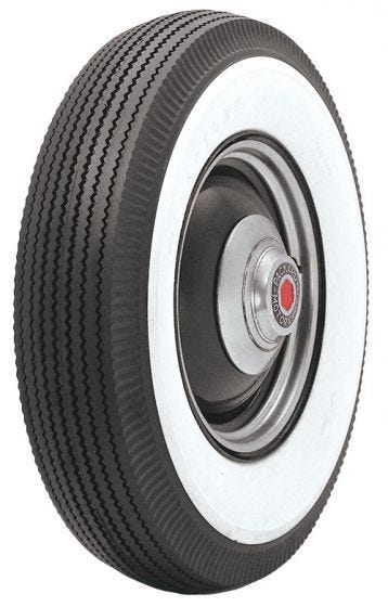 Firestone | 3 3/4 Inch Whitewall | 600-20 (30x5)