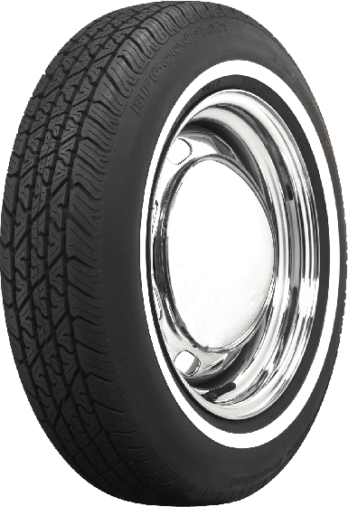 BF Goodrich Silvertown Radial | 3/4 Inch Whitewall | 165R15