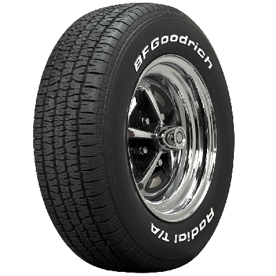 BF Goodrich Radial T/A | White Letter | 215/70R15