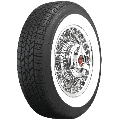 Coker Classic | 2 3/8 Inch Whitewall | 205/75R14