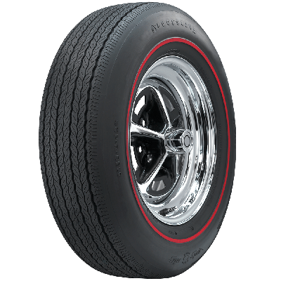 Firestone Wide Oval Radial | Redline | FR70-14