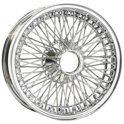 Dayton Wire Wheel-AC-Greyhound-Tubeless-15x5-72-Chrome