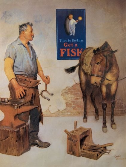 Fisk Poster | Horse Shoeing