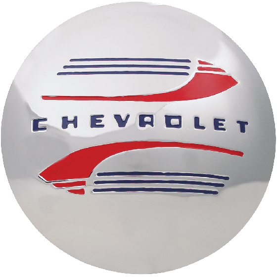 "Chevrolet Cap | 7.5"" Back I.D. 