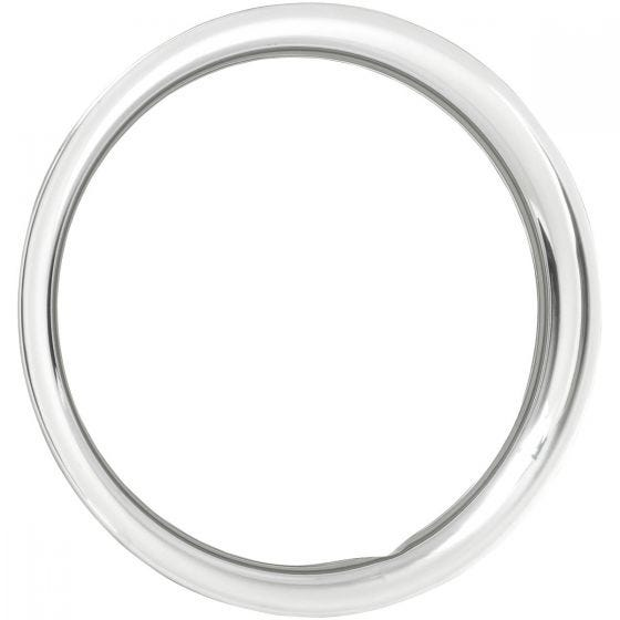 "15"" TRIM RING 2"" ROUND Stainless Steel"