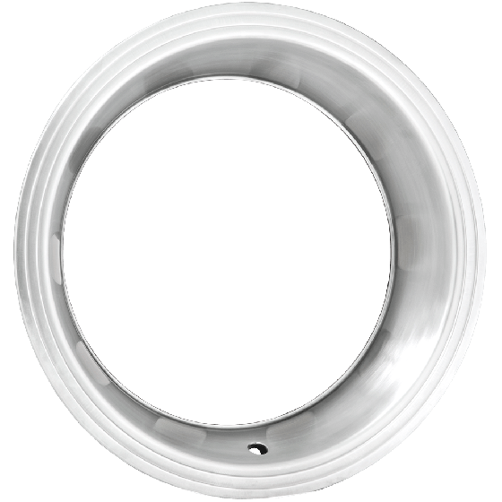 Trim Ring | 15 Inch x 3 Inch Step | Brushed Finish