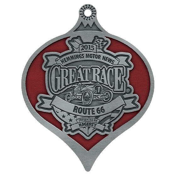 Great Race 2015 Ornament