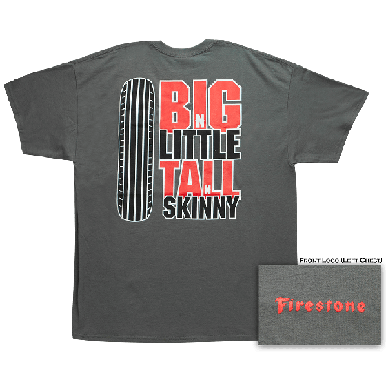 Firestone Big-N-Little T-Shirt | X Large