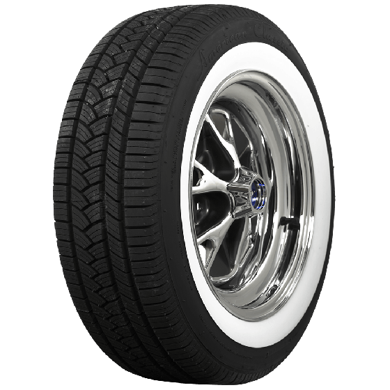 American Classic Radial | 1 1/2 Inch Whitewall | 205/60R16