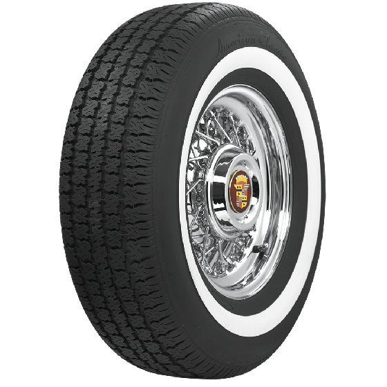 American Classic Radial | 1.6 Inch Whitewall | 225/75R15