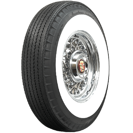 American Classic Radial | 3 1/4 Inch Whitewall | 760R15