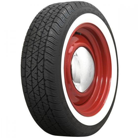 BF Goodrich | 1 3/4 Inch Whitewall | 195/60R15