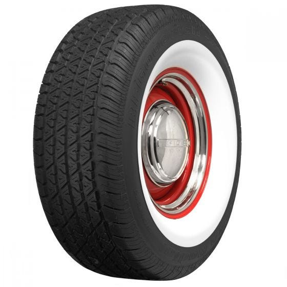 BF Goodrich Silvertown Radial | 2 7/8 Inch Whitewall | 275/65R16