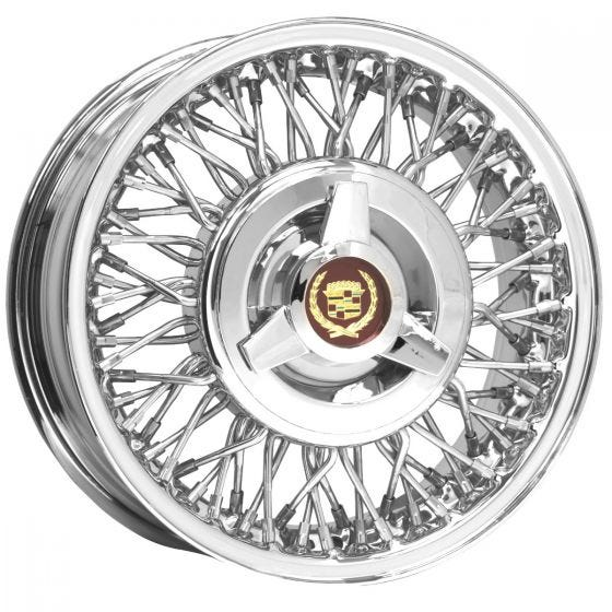 15x6 Cadillac Eldorado | 5x5 bolt | Stainless | FWD Wheel-Drum Brake