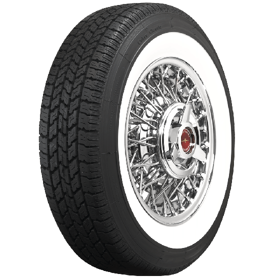 Coker Classic | 2 3/4 Inch Whitewall | 225/75R15