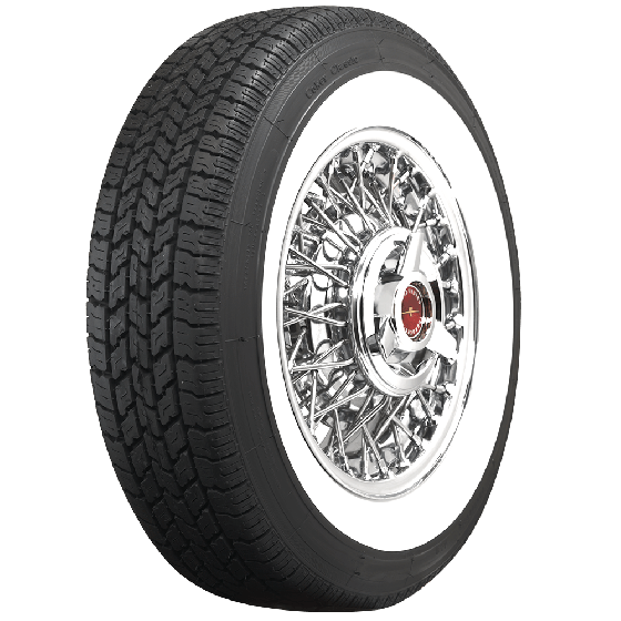 Coker Classic | 2 3/8 Inch Whitewall | 205/75R15